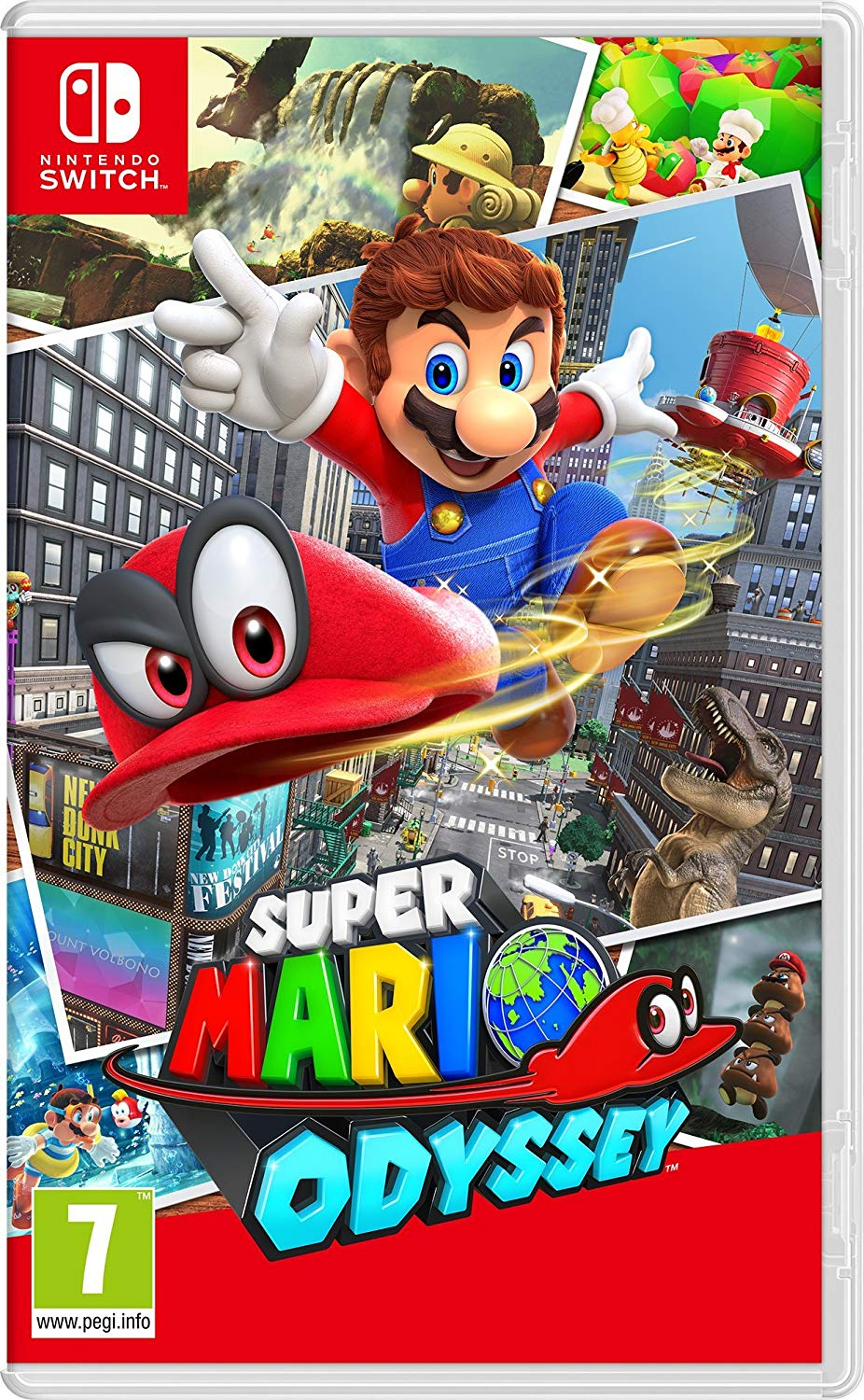 Super Mario Odyssey (Nintendo Switch) Review